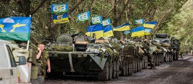 Wojna na Ukrainie, fot. Sasha Maksymenko