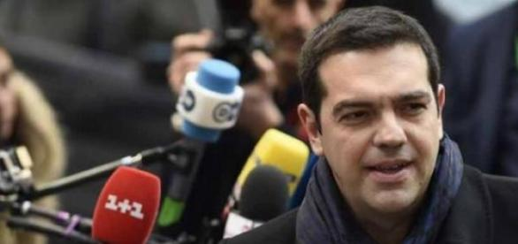 Aleksis Tsipras, lider Syrizy