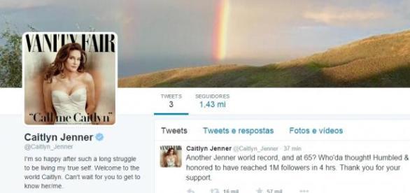 Conta de Twitter de Caitlyn Jenner