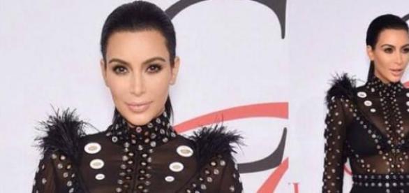 Pierwsze ciążowe wyjście Kim Kardashian