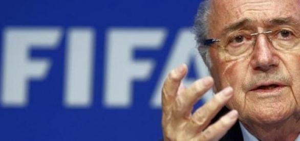 Sepp Blatter był prezydentem FIFA od 1998 roku.