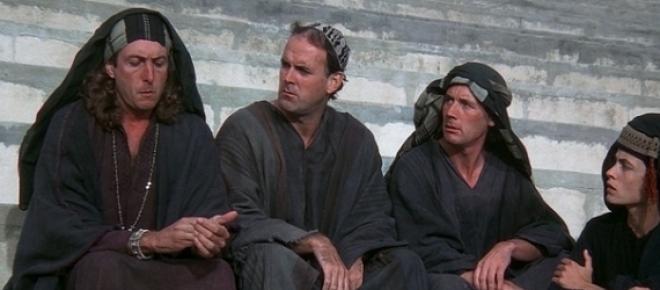 Részlet a Monty Python: Brian élete című filmből