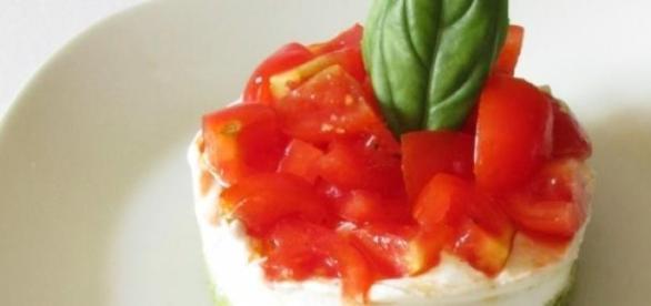 Cheesecake salata alle verdure