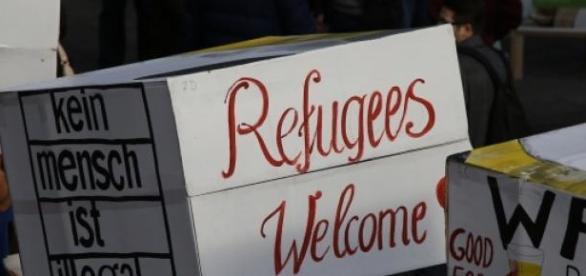 Kirche und ZPS unterstützen Flüchtlinge.