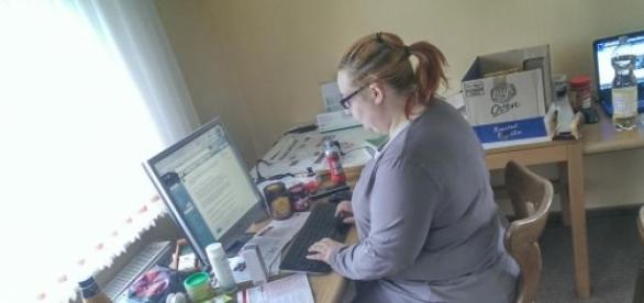 Ilona ist leidenschaftliche Bloggerin.