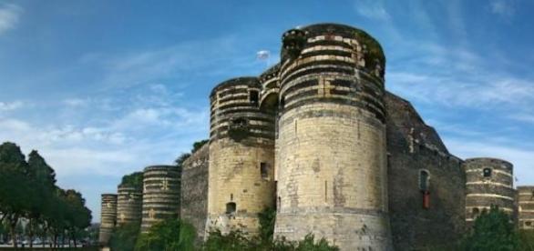 Le fameux château d'Angers