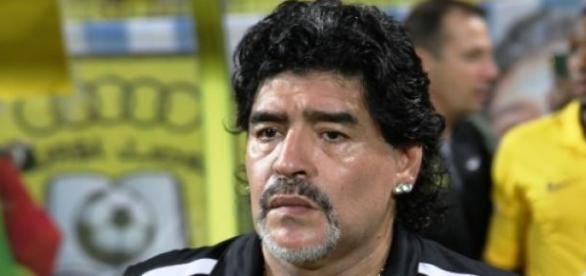 Maradona por la presidencia de la FIFA