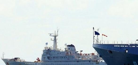 Navios com bandeira de Falklands foram barrados