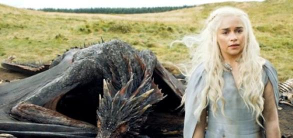 The Khaleesi may get the help of the God of Light