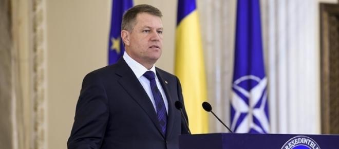 Klaus Iohannis a semnat decretul de numire