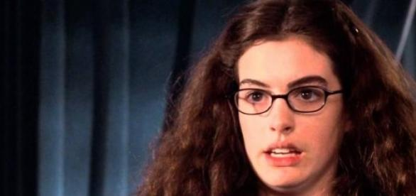 Anne Hathaway in the 'Princess Diaries'.