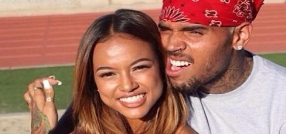 Chris Brown et Karrueche Tran.