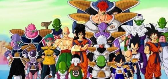 Dragón Ball Z es una serie anime japonesa.