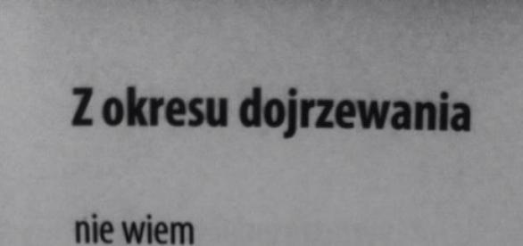 Jedna z fraz Marii Goniewicz
