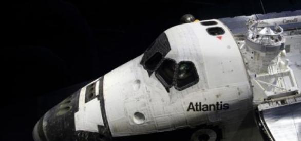La navette Atlantis au KSC