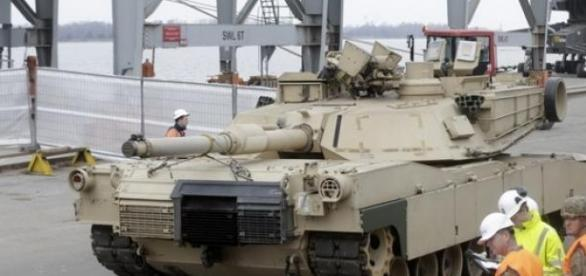 Tancurile SUA vor veni in Romania
