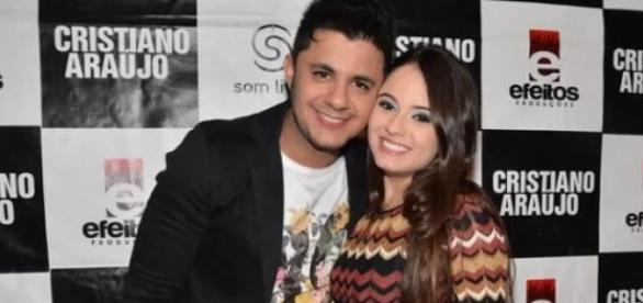 O cantor e a namorada faleceram em acidente