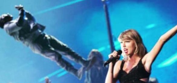 Taylor Swift em Glasgow (Foto: Instagram Tay. S.)