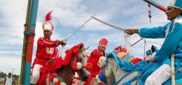 Cavalhada é representação de luta medieval