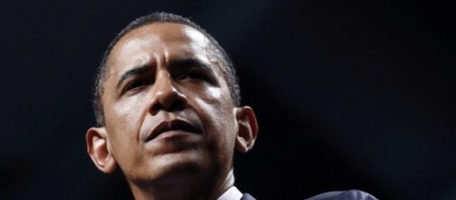 Barack Obama interrompido durante o discurso