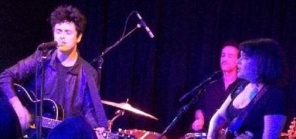 Billie Joe y Norah en pleno show