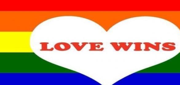 O amor vence, dizem os americanos.