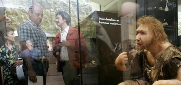 Umanii moderni si Neanderthal