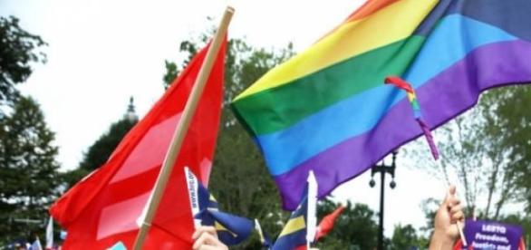 Comemoração de defensores do casamento gay