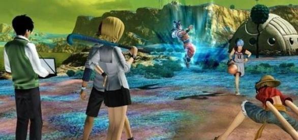 Goku, Luffy y demás en plena acción.