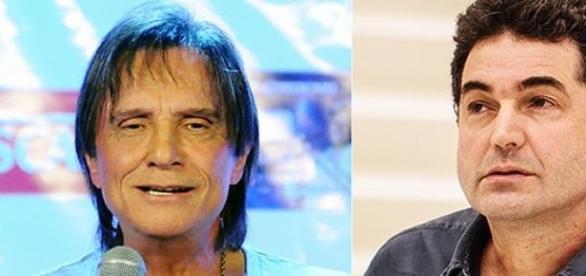 Roberto Carlos e Paulo Cesar Araújo
