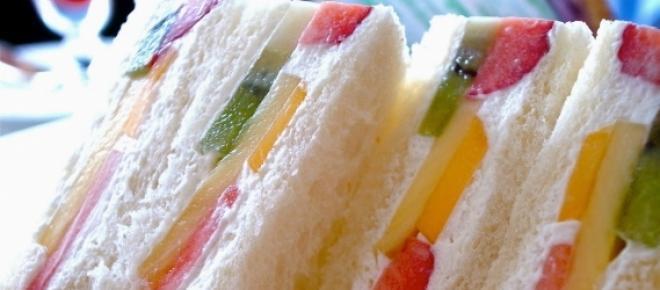 Más de Japón: los curiosos sandwiches de fruta