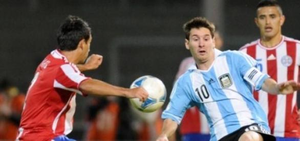 Argentina y Paraguay una de las semis de la Copa