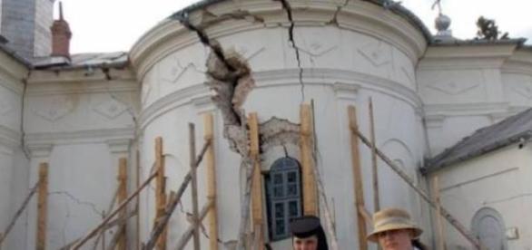 Mănăstirea Rătești, situație deplorabilă!