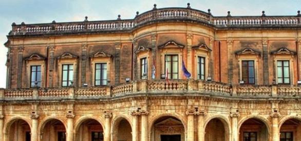 Palazzo Ducezio, sede del Comune di Noto