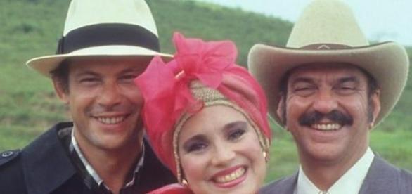 com Regina Duarte e Lima Duarte - Roque Santeiro