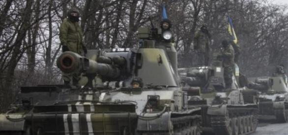 Hoje deu-se confronto importante perto de Donetsk.
