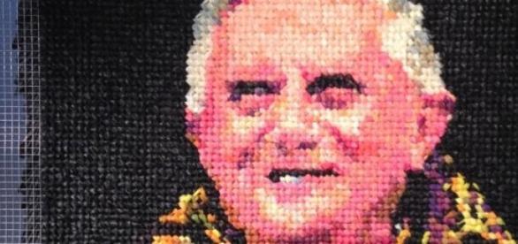 El retrato controversial de Benedicto XVI