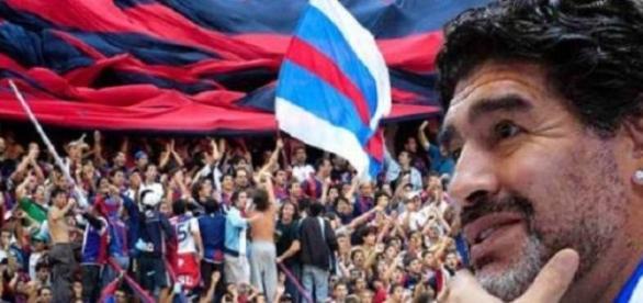 Maradona: 'Fui jugador de San Lorenzo dormido'
