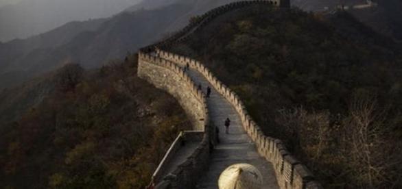Marele Zid Chinezesc a disparut, partial