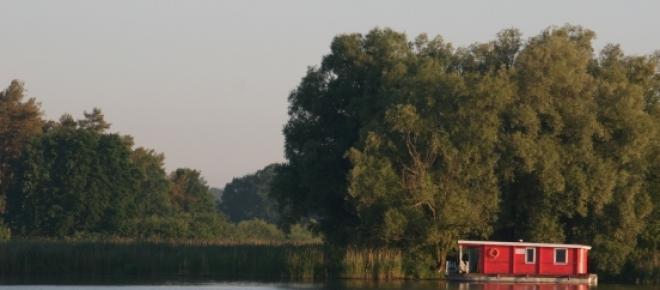 Mit dem Bunbo über die Havel