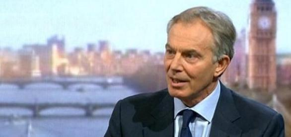 Blair, resigned as Peace Envoy to the Middle East.