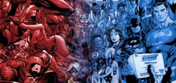 Marvel y DC: batalla cinematográfica