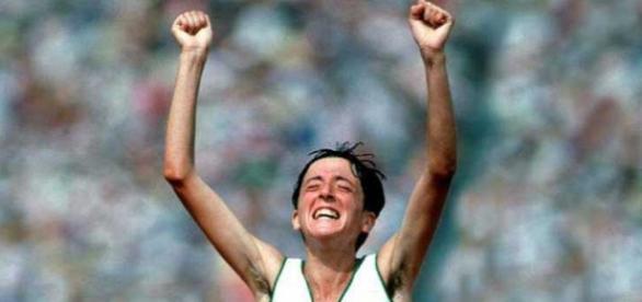 Rosa Mota, campeã Olímpica em 1988