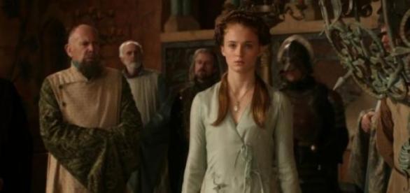 Sansa Stark tem sido vítima de muita violência