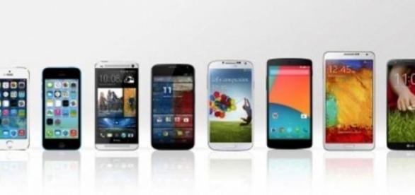 servicios y aplicaciones para smartphones