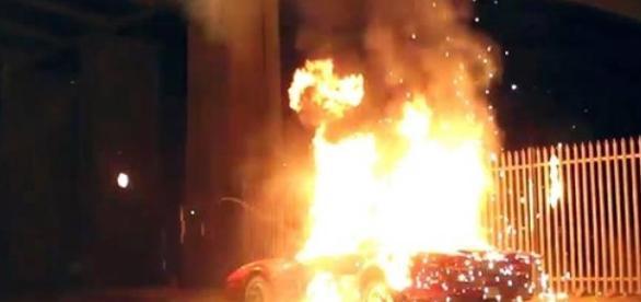 Tentativa de sinucidere: si-a dat foc