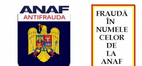 ANAF, nu cere plata taxelor prin e-mail
