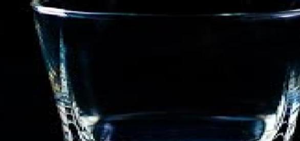 Este vaso vacío representa la deshidratación
