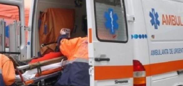Femeia a ajuns în stare gravă la spital