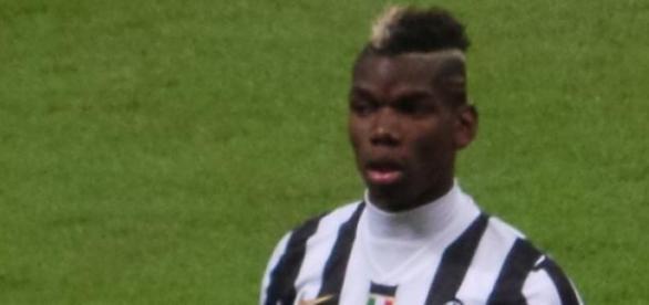 Paul Pogba con la Juventus